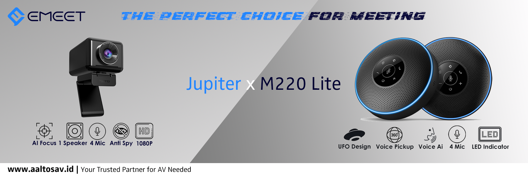 eMeet Jupiter X M220 Lite