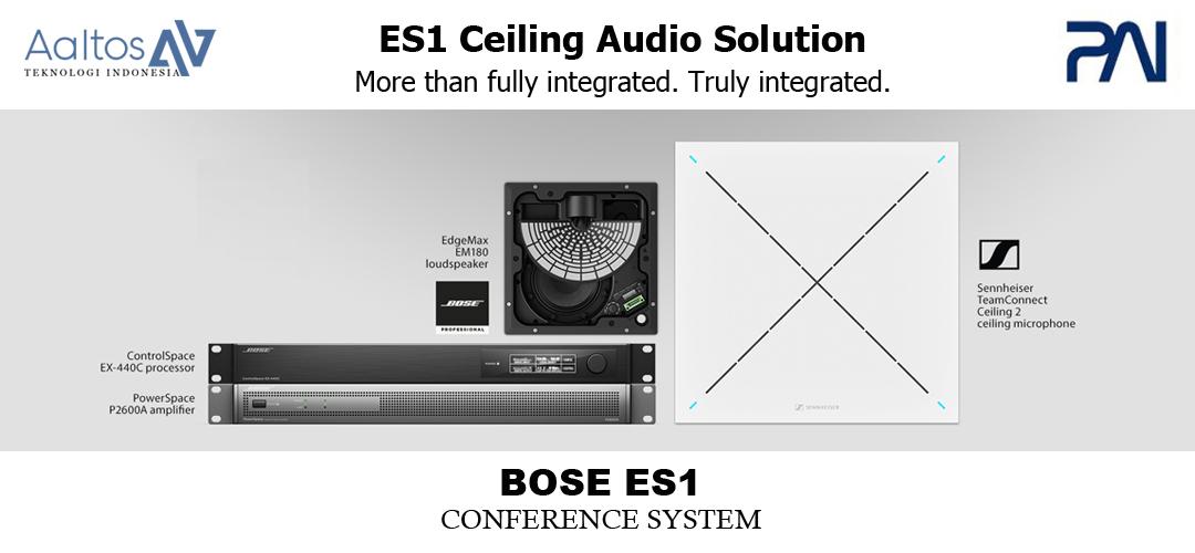 ES1 Ceiling Audio Solution